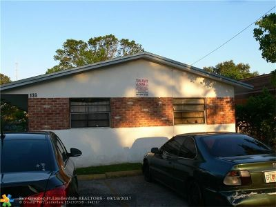 Fort Lauderdale Multi Family Home For Sale: 130 NW 28th Ave