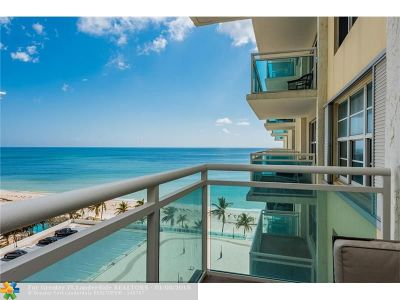 Broward County Condo/Townhouse For Sale: 3900 Galt Ocean Dr #912