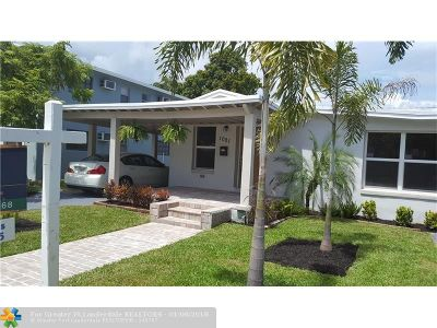 Fort Lauderdale Single Family Home For Sale: 1001 NE 16th St