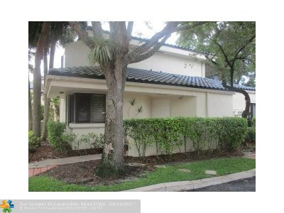 Plantation Condo/Townhouse For Sale: 8120 NW 15th Mnr #HD1R