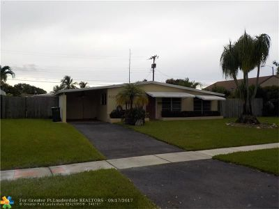 Margate Single Family Home Backup Contract-Call LA: 6105 NW 9th St