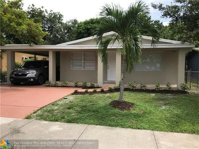 Fort Lauderdale Single Family Home For Sale: 2930 NW 10th Ct