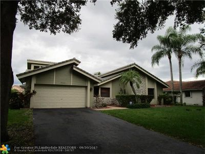 Coral Springs Single Family Home For Sale: 9063 NW NW 51 Place
