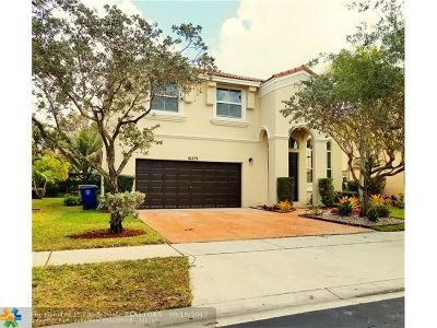 Miramar Single Family Home For Sale: 16279 SW 49th Ct