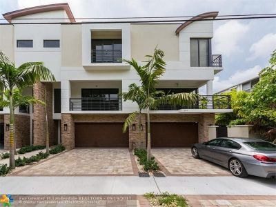 Fort Lauderdale Condo/Townhouse For Sale: 207 NE 13th Ave #*