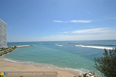 Fort Lauderdale Condo/Townhouse For Sale: 2100 S Ocean Dr #10-E