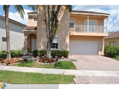 Coral Springs Single Family Home For Sale: 12649 NW 6th Ct