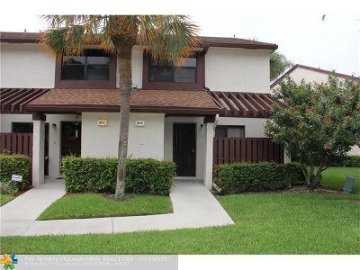 Coconut Creek Condo/Townhouse For Sale: 4353 Carambola Cir #F