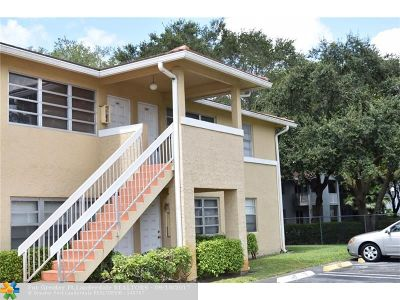 Coral Springs Rental For Rent: 848 Twin Lakes Dr #19-G