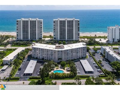 Boca Raton Condo/Townhouse For Sale: 2851 S Ocean Blvd #2-A
