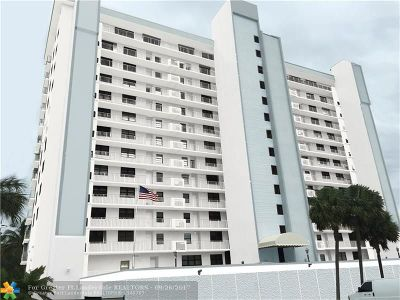 Pompano Beach Condo/Townhouse For Sale: 1401 N Riverside Dr #407