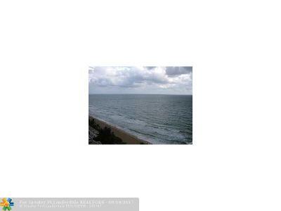 Rental For Rent: 4100 Galt Ocean #1011