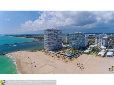 Fort Lauderdale Condo/Townhouse For Sale: 2100 S Ocean Ln #703