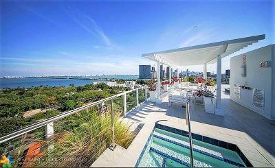 Miami Condo/Townhouse For Sale: 4250 Biscayne Blvd #816