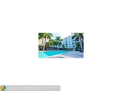 Fort Lauderdale Condo/Townhouse For Sale: 2401 NE 65th St #506