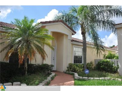 Coconut Creek Single Family Home For Sale: 6000 NW 43rd Ter