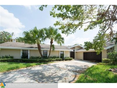 Plantation Single Family Home For Sale: 9629 Sea Turtle Dr