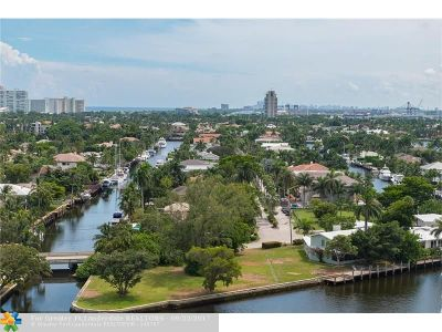 Fort Lauderdale Condo/Townhouse For Sale: 340 Sunset Dr #1501