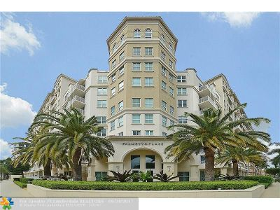 Boca Raton Condo/Townhouse For Sale: 99 SE Mizner Blvd #443