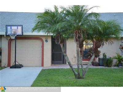 Tamarac Condo/Townhouse Backup Contract-Call LA: 7681 NW 99th Ave #7681