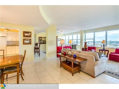 Fort Lauderdale Condo/Townhouse For Sale: 3300 NE 36th St #808