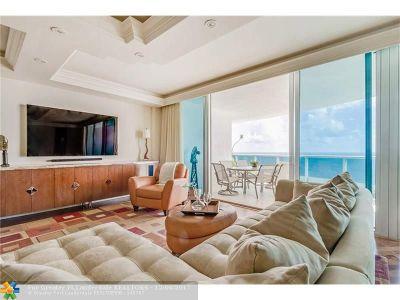Pompano Beach Condo/Townhouse For Sale: 1600 S Ocean Blvd #1203