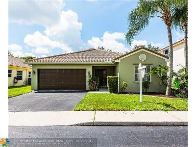 Broward County Single Family Home For Sale: 12500 NW 10th St
