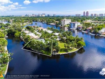 Fort Lauderdale Rental For Rent: 1725 NE 23rd Avenue