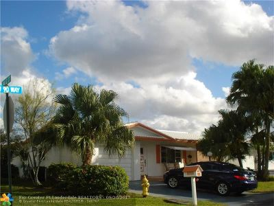 Plantation Single Family Home For Sale: 1174 NW 90th Way
