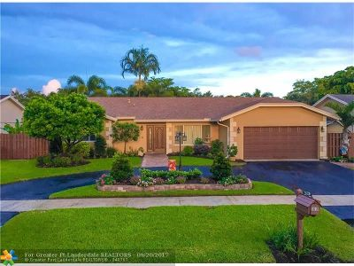 Cooper City Single Family Home For Sale: 5816 SW 117th Ter