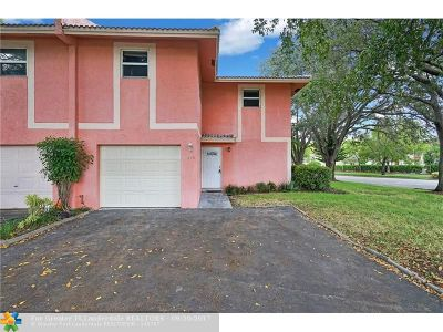 Coral Springs Rental For Rent: 11819 NW 30th St