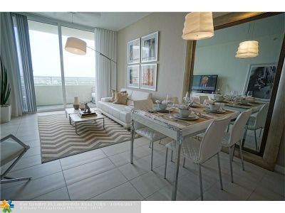 Fort Lauderdale Rental For Rent: 400 SW 1st Ave #1907