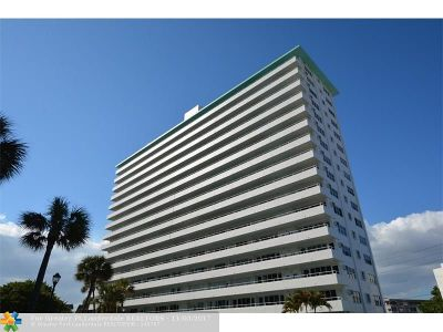 Lauderdale By The Sea Condo/Townhouse For Sale: 4050 N Ocean Dr #706