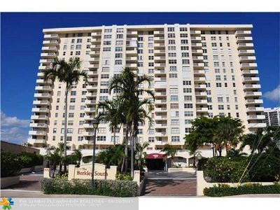 Fort Lauderdale Condo/Townhouse For Sale: 3015 N Ocean Blvd #4L