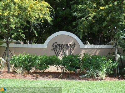 Coral Springs Rental For Rent: 8767 NW 6th St