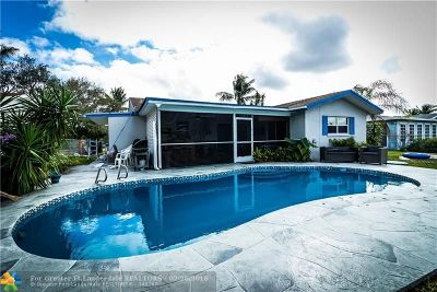 Fort Lauderdale Single Family Home For Sale: 6631 NW 33rd Way
