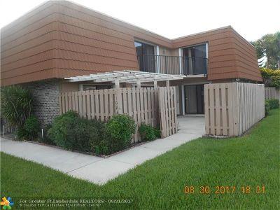 Broward County Condo/Townhouse For Sale: 11023 SW 15th Mnr #11023