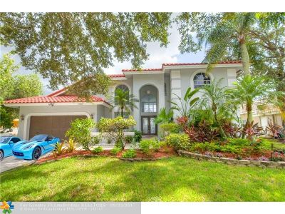 Single Family Home For Sale: 9810 NW 49th Pl