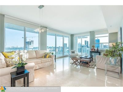 Fort Lauderdale Condo/Townhouse For Sale: 315 NE 3rd Ave #1806
