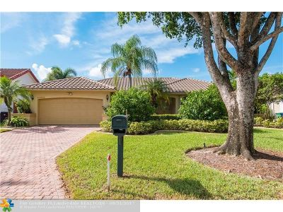 Coral Springs Single Family Home For Sale: 6300 NW 53rd St