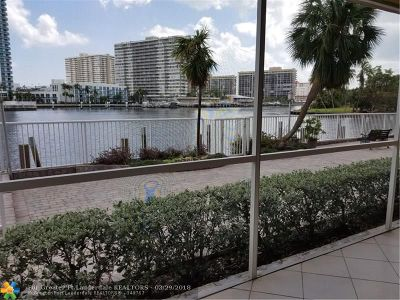 Hallandale Condo/Townhouse For Sale: 121 Golden Isles Dr #2G