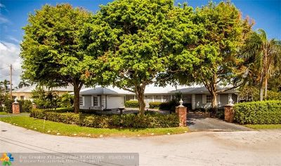 Fort Lauderdale Single Family Home For Sale: 2841 NE 37th Ct