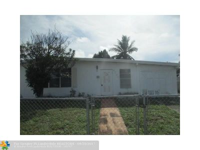 Pompano Beach Single Family Home For Sale: 4050 NE 15th Ave