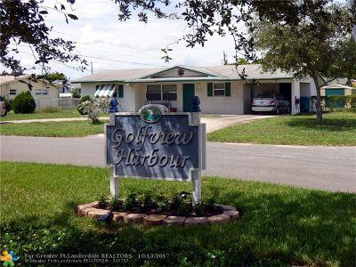 Boynton Beach Single Family Home For Sale: 2315 SW 11th St