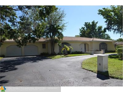 Coral Springs Single Family Home For Sale: 3211 NW 87th Ave