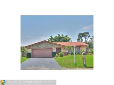 Coral Springs FL Single Family Home For Sale: $385,500