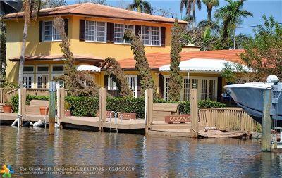 Fort Lauderdale Rental For Rent: 2400 Delmar Pl