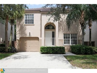 Plantation Single Family Home For Sale: 10901 NW 12th Dr