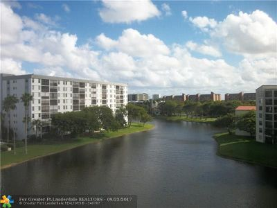 Broward County , Palm Beach County Condo/Townhouse For Sale: 2232 N Cypress Bend Dr #607