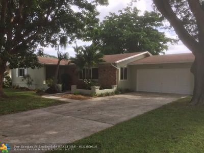 Single Family Home For Sale: 3860 NW 4th Ct